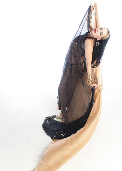Belly Dancer Selena Kareena - Veil Work