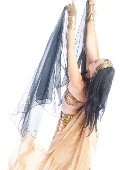 Belly Dancer Selena Kareena - Veil Work