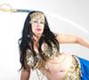Selena Kareena - workshops on Belly Dance including Floor Work with Swords