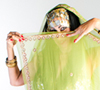 Selena Kareena Belly Dancing with a Veil