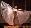 Selena Kareena dancing with Isis Wings